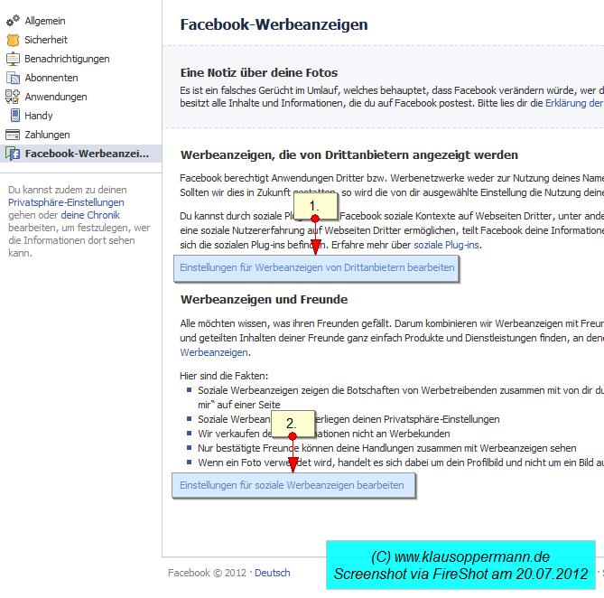 facebook werbeanzeigen 1