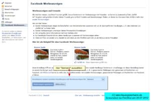 Facebook-Werbeanzeigen 2