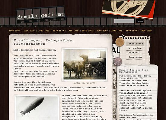webdesign damals gefilmt