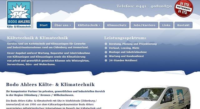 webdesign kaeltetechnik