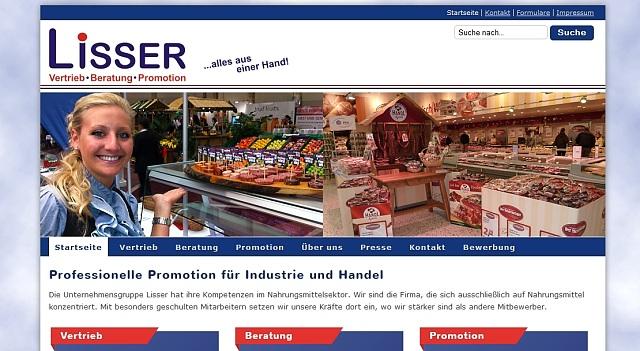 webdesign lisser promotion