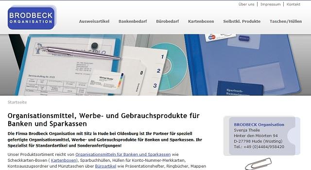 webdesign organisation