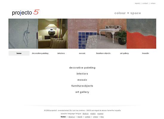 webdesign projecto5