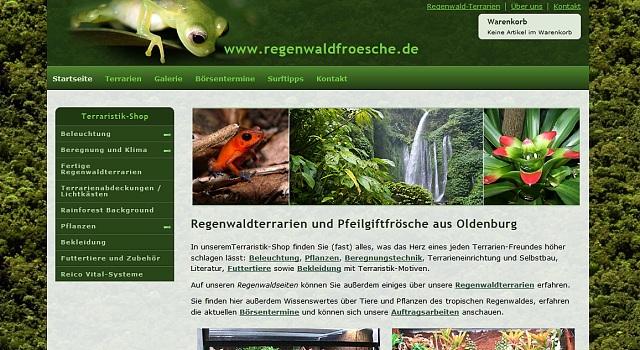 webdesign regenwaldterrarien