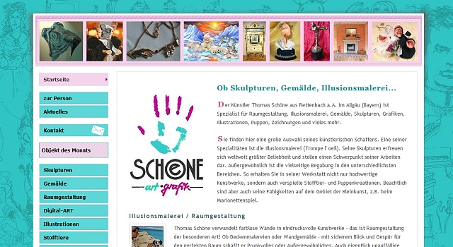webdesign schoene kunst