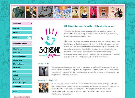 webdesign schoeneonline