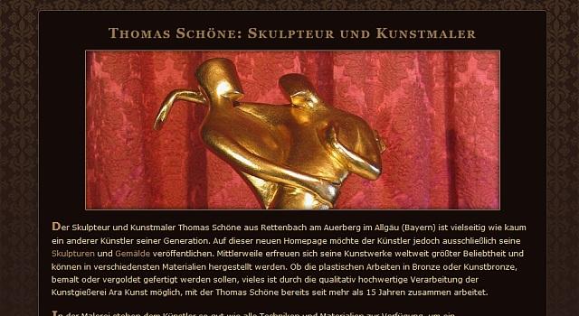 webdesign skulpturen