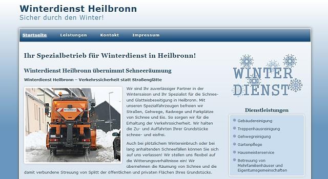 webdesign winterdienst heilbronn