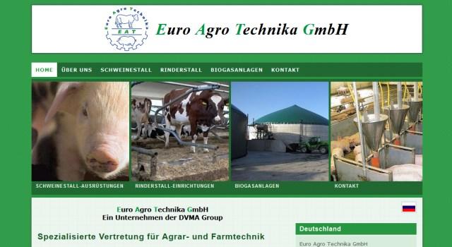 webdesign agrartechnik eat