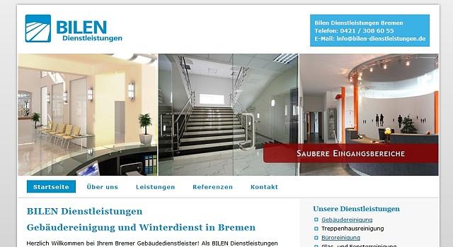 webdesign reinigung bremen 2