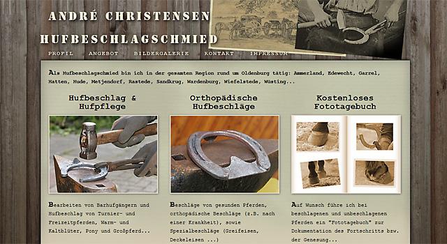 webdesign hufschmied oldenburg