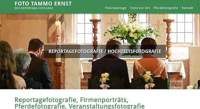 Webdesign Fotograf Ernst