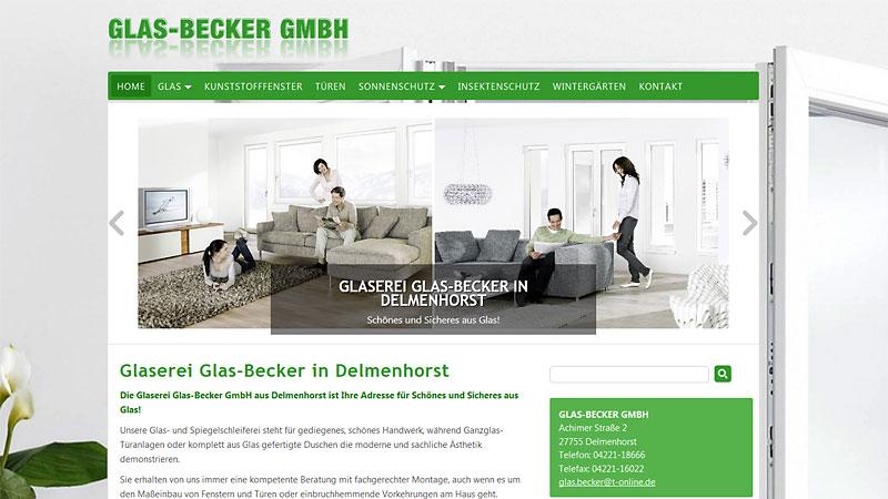 webdesign glaserei
