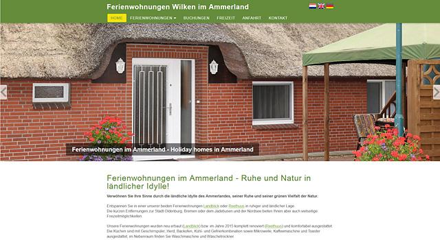 Ferienwohnungen Ammerland Rastede Oldenburg