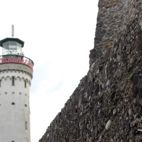 Lindau Bodensee Hafenmauer Leuchtturm