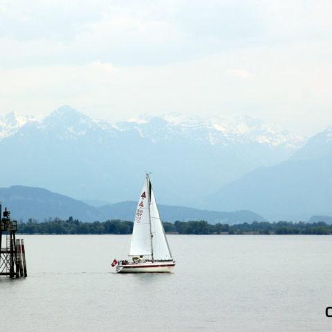 Lindau Bodensee Segelschiff