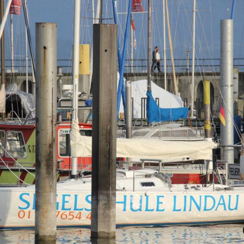 Lindau Segelschule Boote Yachten