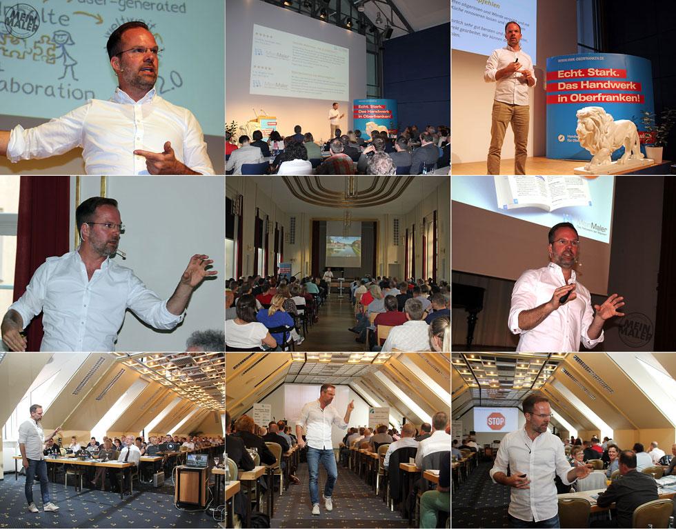 Social Media Marketing Handwerk Vortrag Selb Bamberg Lindau