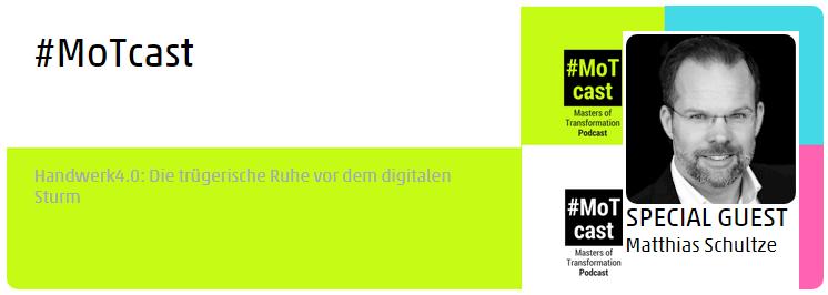 MoTcast Handwerk digital transformation