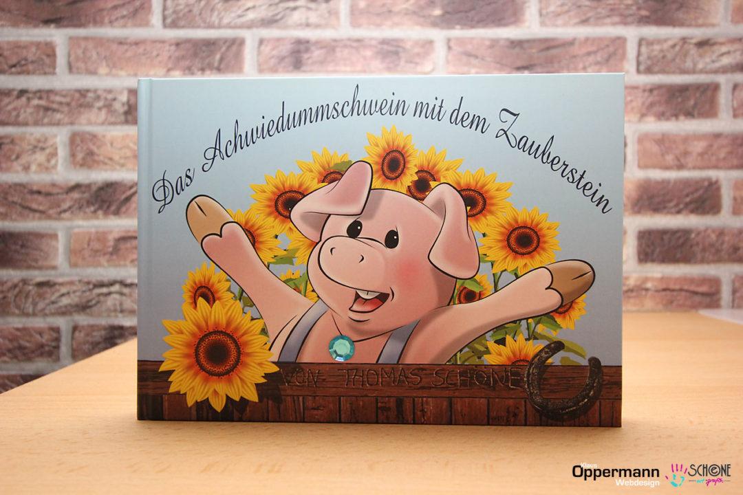 Bilderbuch Das AchwiedummSchwein mit dem Zauberstein 01