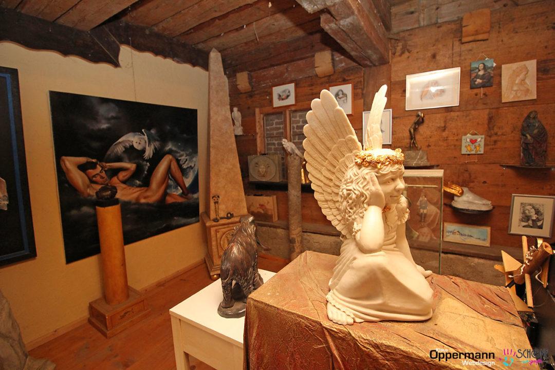 Malerei Grafken Skulpturen Kuenstler Rettenbach Allgaeu Bayern 2