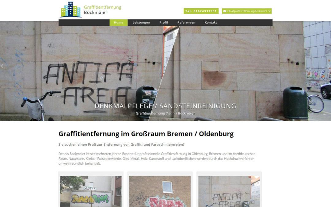 Graffitientfernung Oldenburg Bremen Webdesign WordPress