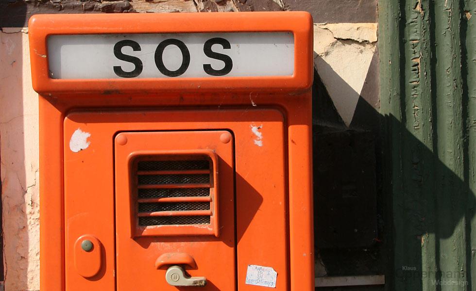 SOS - schnelle Hilfe für die Homepage