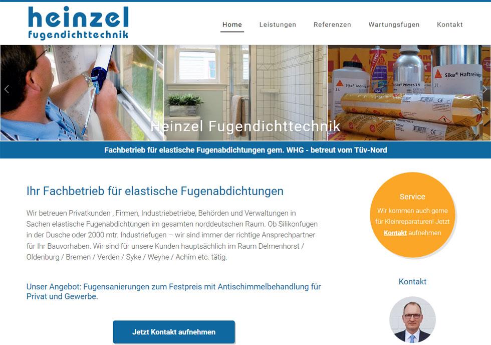 Fugendichttechnik Delmenhorst Bremen Handwerk Webdesign