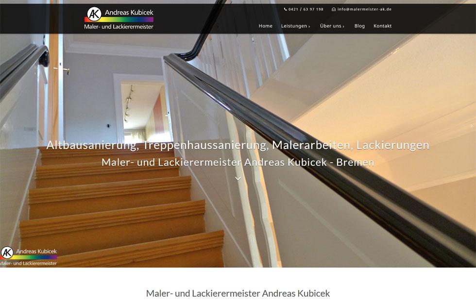 Malerbetrieb Bremen Oldenburg Webdesigner
