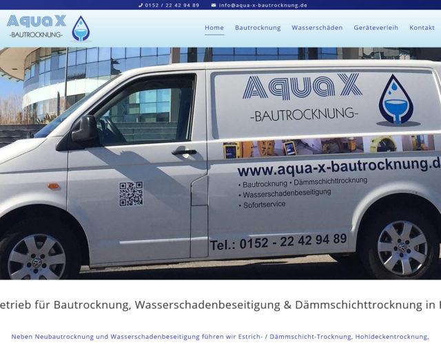 Webdesign Fachbetrieb fuer Bautrocknung und Wasserschadenbeseitigung Hannover