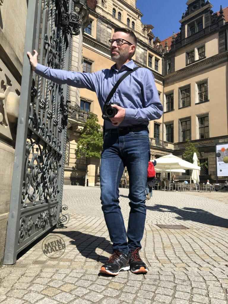 Webdesigner Klaus Oppermann aus Oldenburg in Dresden