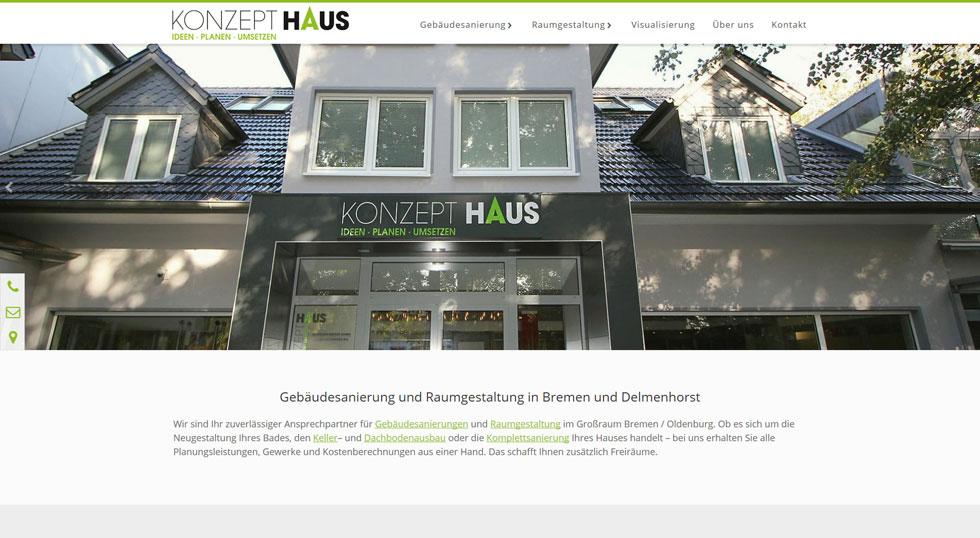 Becker Konzepthaus Delmenhorst Bremen Webdesign 2