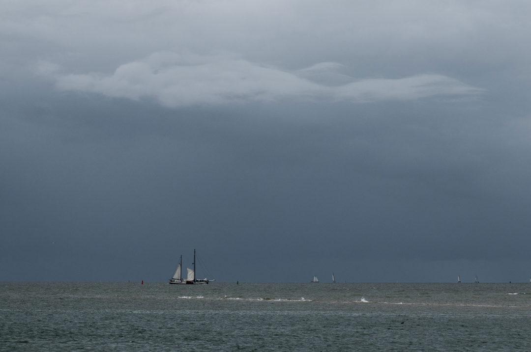 Auf hoher See 01 Segeln auf dem IJsselmeer