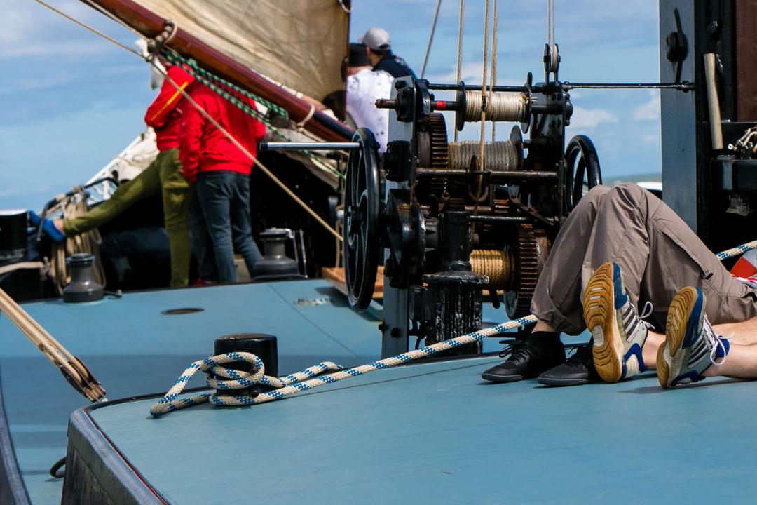 Relax Segeln auf dem IJsselmeer