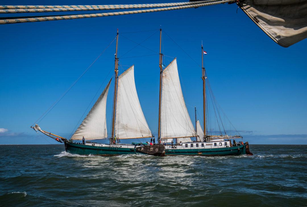 Segelschiff 11 Segeln auf dem IJsselmeer