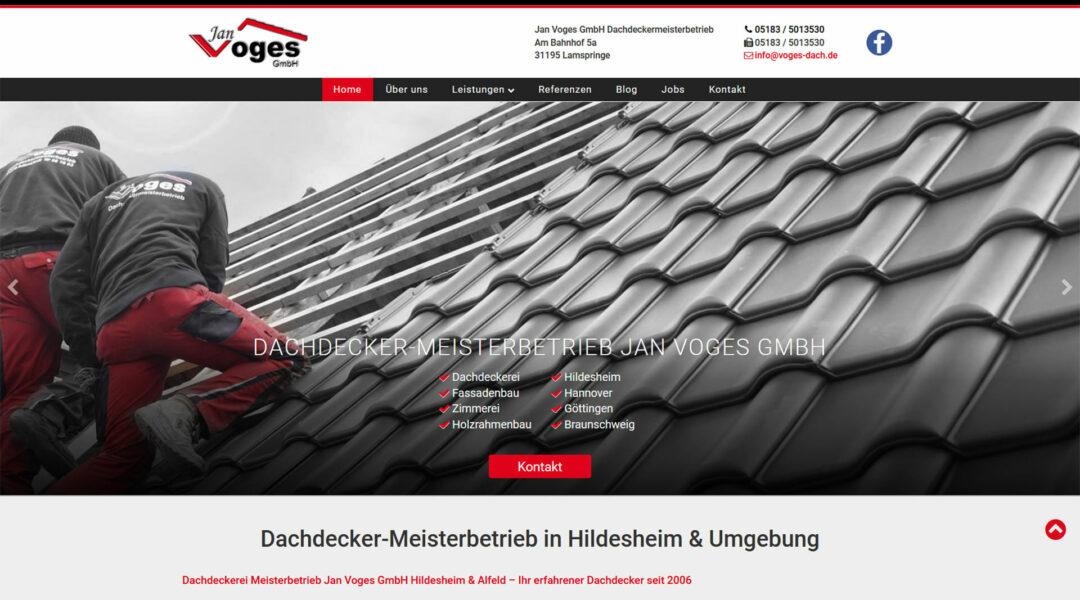 Dachdeckermeisterbetrieb Jan Voges Hildesheim
