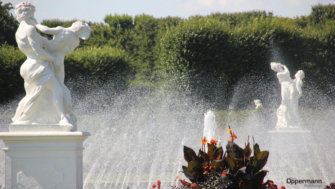 Hannover Herrenhausen Garten Brunnen Wasser