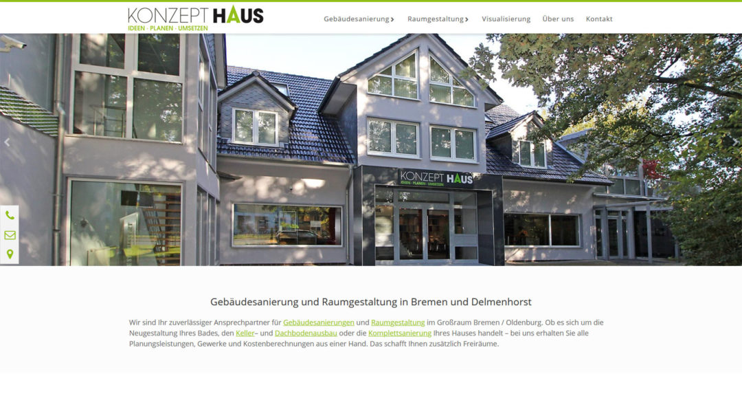 Konzepthaus Becker Delmenhorst Webdesign