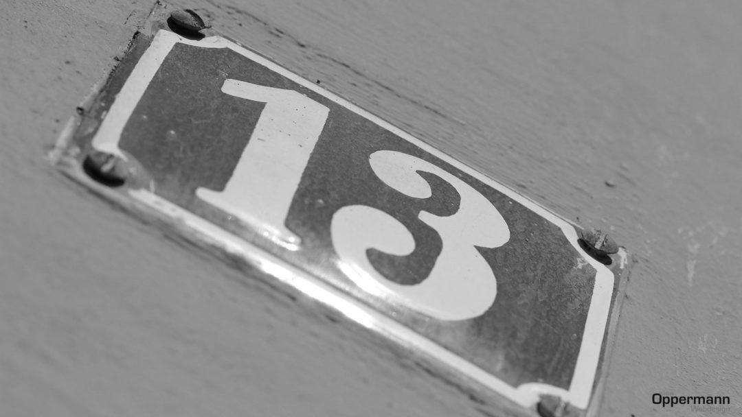 dreizehn 13
