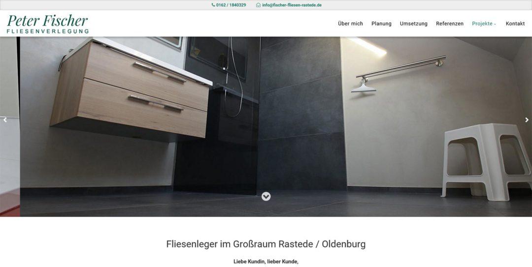Webdesign Fliesenleger Rastede Fliesenverlegung Oldenburg