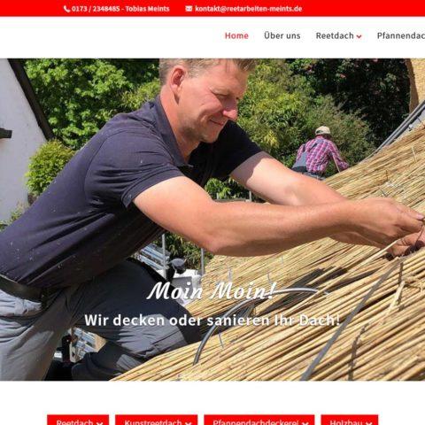 Webdesigner Reetdachdecker Reetdach Dachdecker Ammerland Bad Zwischenahn Pfannendacharbeiten Holzbau Zimmerei